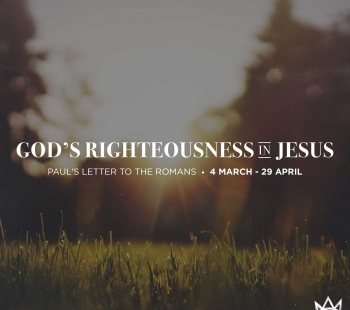 God's Righteousness in Jesus – The Great Intervention